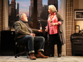 Richard Masur as David and Jayne Houdyshell as Theresa in Relevance.