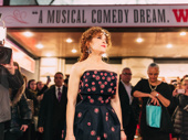 It takes a woman! Hello, Dolly! headliner Bernadette Peters takes in her official opening night.