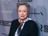 Stage and screen legend Kathy Bates hits the red carpet.