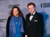 Scribe Theresa Rebeck attends the Roundabout Gala with her son Cooper.