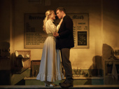 Delaney Westfall as Johanna and Billy Harrigan Tighe as Anthony in Sweeney Todd: Demon Barber of Fleet Street.