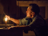 Zachary Noah Piser as Tobias in Sweeney Todd: Demon Barber of Fleet Street.