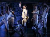 Bryan Terrell Clark as George Washington in Hamilton..