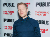 Anthony Rapp, who memorably appeared in Michael Greif's productions Rent and If/Then is on hand at the opening.