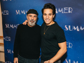 Donna Summer's husband Bruce Sudano and Jared Zirilli, who portrays him in Summer.
