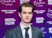 Angels in America's Andrew Garfield was just nominated for an Olivier Award for his performance in the London production as Prior.