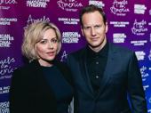 Acting power couple Dagmara Dominczyk and Patrick Wilson pose.
