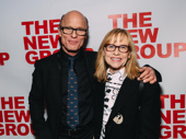 Good for Otto's Ed Harris and Amy Madigan attend the New Group gala.