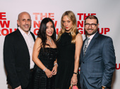 What a night! The New Group's Artistic Director Scott Elliott and Executive Director Adam Bernstein pose with the evening's honorees Kumiko Yoshii and Chloë Sevigny.