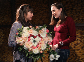 Sasha Diamond as Meghan Gotschell and Talene Monahon as Megan Currie in Bobbie Clearly.