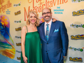 Escape to Margaritaville's choreographer Kelly Devine and director Christopher Ashley get together.