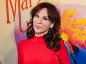 Marilu Henner, who will return to Broadway in Gettin' the Band Back Together, enjoys the Broadway opening of Escape to Margaritaville.