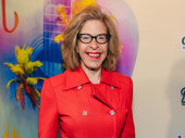 Stage and screen funny gal Jackie Hoffman hits the red carpet.
