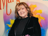 Three-time Tony nominee Brenda Vaccaro snaps a pic.