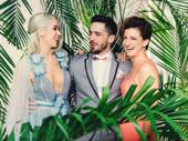 Escape to Margaritaville's Sara Andreas, Brett Thiele and Tessa Alves