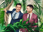 The Play That Goes Wrong star Mark Evans and Margaritaville's Justin Mortelliti
