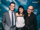 Happy opening to Harry Clarke star Billy Crudup, director Leigh Silverman and scribe David Cale! Catch the solo play at the Minetta Lane Theatre.