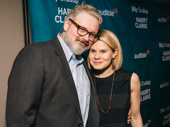 Theater couple John Ellison Conlee and Celia Keenan-Bolger snap a pic.