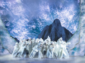 The cast of Frozen.