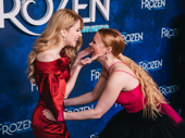 They brought Elsa and Anna to life on Broadway! Frozen's Caissie Levy and Patti Murin can't stop smiling on opening night.