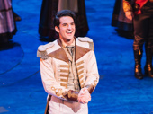 Frozen's John Riddle takes his curtain call.