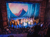 Congrats to the cast and company of Disney's Frozen on an incredible opening night!