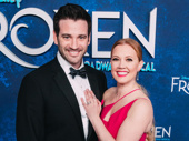 Patti Murin and husband, actor Colin Donnell, get cozy.