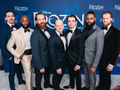 The gents of Frozen's ensemble get together.
