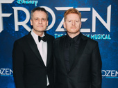 Frozen director Michael Grandage and costume and scenic designer Christopher Oram looking stately.