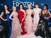 Frozen's female ensemble gets glam.