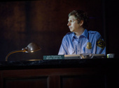 Michael Cera as Jeff in Lobby Hero.