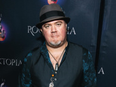 After Mat Fieldes rocks the bass in Rocktopia, he steps down the carpet looking more dapper than ever.
