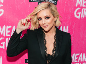 30 Rock and Unbreakable Kimmy Schmidt funny-woman Jane Krakowski flips her hair Regina style.