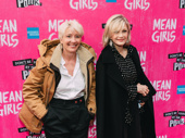 Emma Thompson and Diane Sawyer step out on the pink carpet.