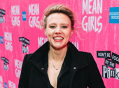 Saturday Night Live Emmy winner Kate McKinnon beams.