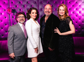 Jeff Richmond, Tina Fey, Casey Nicholaw and Nell Benjamin