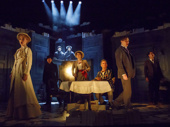 The cast of Travesties.