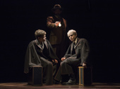 Sam Clemmett as Albus Potter and Anthony Boyle as Scorpius Malfoy in Harry Potter and the Cursed Child.