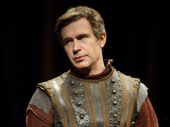 Jack Davenport as Warwick in Saint Joan.