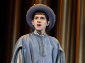 Adam Chanler-Berat as Dauphin in Saint Joan.