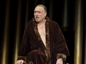 Patrick Page as Baudricourt in Saint Joan.