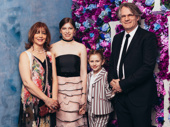 Director Bartlett Sher and family