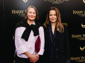 Cherry Jones and Sophie Huber snap a pic.
