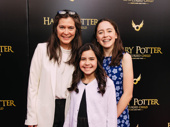 Director Diane Paulus and her daughters are all smiles for Harry Potter and the Cursed Child.