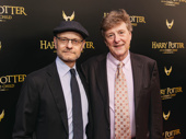 Theater couple David Hyde Pierce and Brian Hargrove get together.