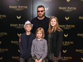 Liev Schreiber and his family are ready for a day of Harry Potter and the Cursed Child.