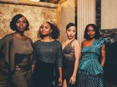 Shirine Babb, Malika Samuel, Alanna Saunders and Adeola Role