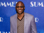 Kinky Boots' Wayne Brady suits up.