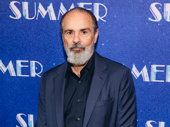 Bruce Sudano, husband of Donna Summer, steps out for opening night.