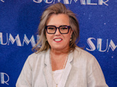 Rosie O'Donnell steps out for opening night of Summer: The Donna Summer Musical.
